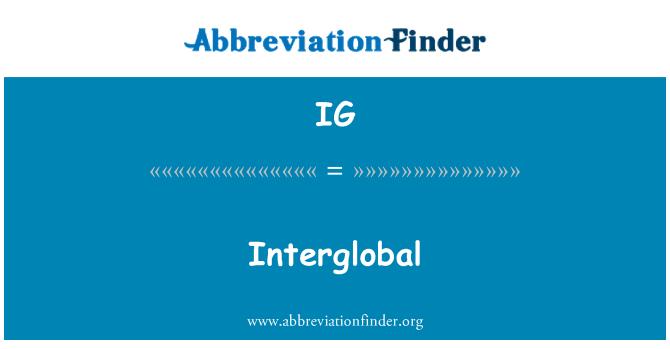 IG: Interglobal
