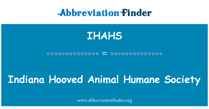 IHAHS: Indiana Hooved Animal Humane Society