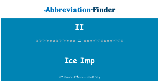 II: Ice Imp