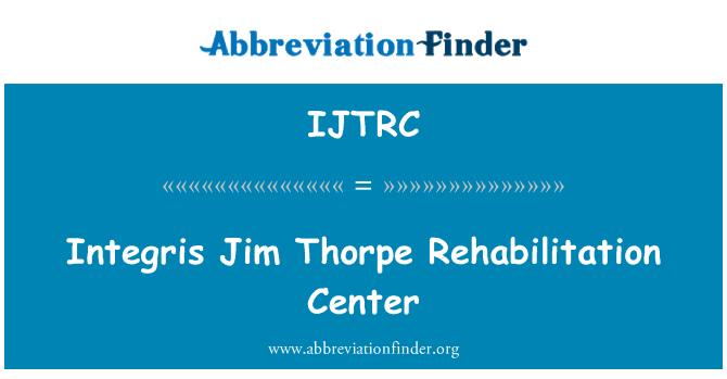 IJTRC: Integris Jim Thorpe Rehabilitation Center