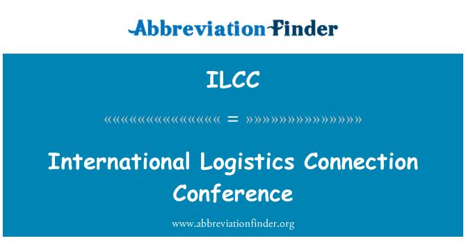 ILCC: International Logistics Connection Conference