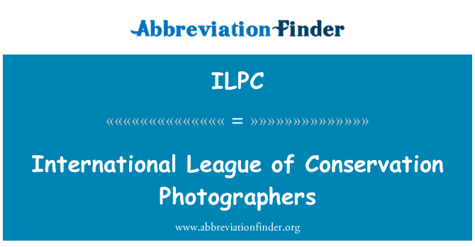 ILPC: International League of Conservation Photographers