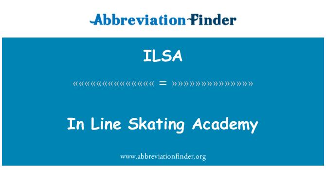 ILSA: In Line Skating Academy