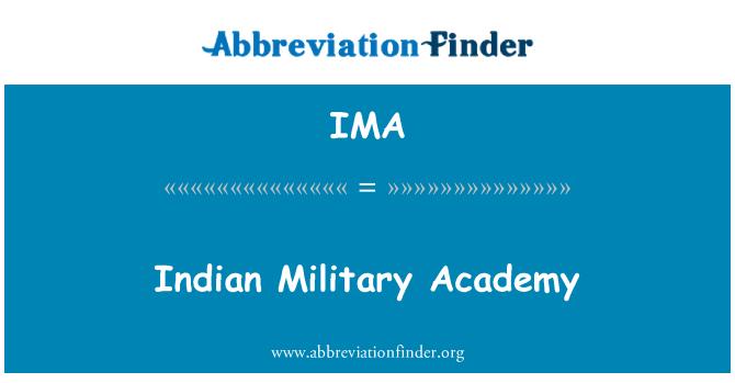 IMA: Indian Military Academy
