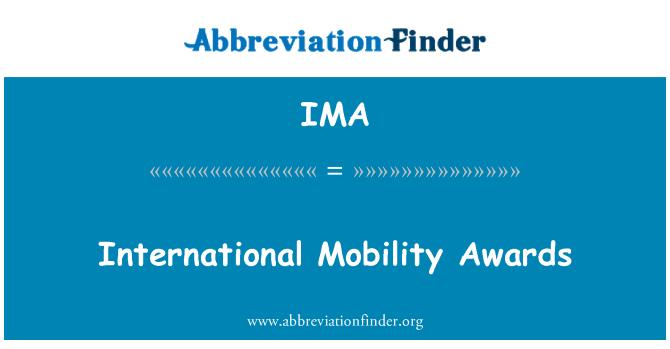 IMA: International Mobility Awards