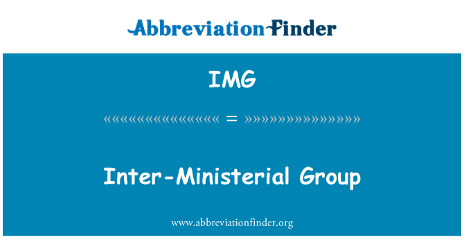 IMG: Inter-Ministerial Group