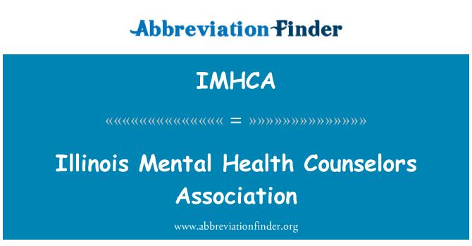 IMHCA: Illinois Mental Health Counselors Association