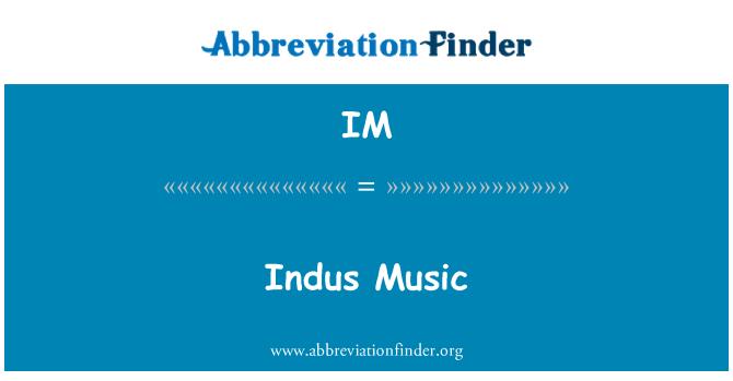 IM: Indus Music