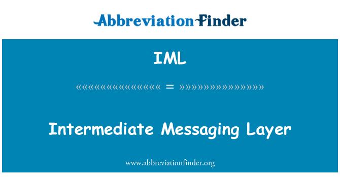 IML: Intermediate Messaging Layer
