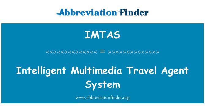IMTAS: Inteligentni multimedijski putnički Agent sustava