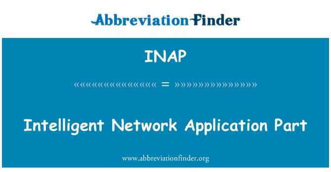 INAP: Intelligent Network Application Part