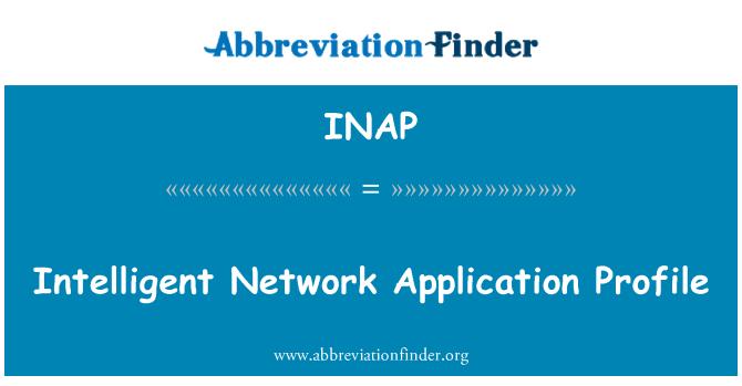 INAP: Intelligent Network Application Profile