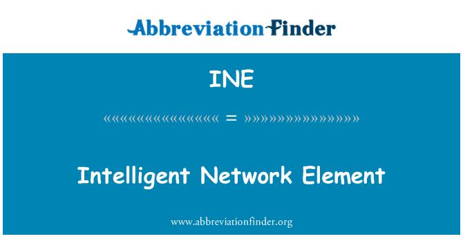 INE: Intelligent Network Element
