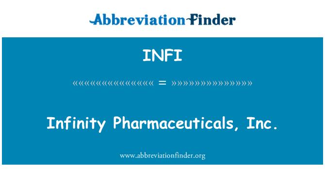 INFI: Infinity Pharmaceuticals, Inc.