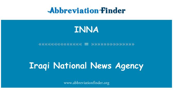 INNA: Iračke nacionalne novinske agencije