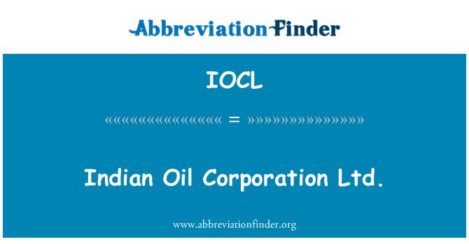 IOCL: Hint yağı Corporation Ltd.