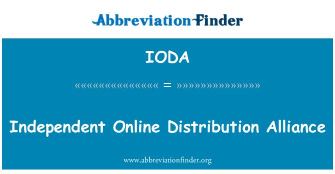 IODA: Independent Online Distribution Alliance