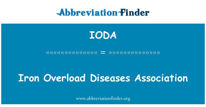 IODA: Iron Overload Diseases Association