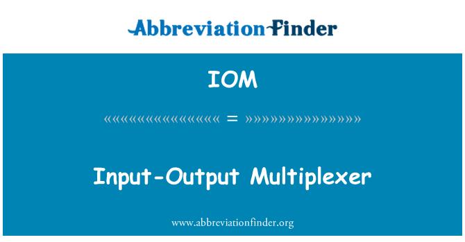 IOM: Input-Output Multiplexer