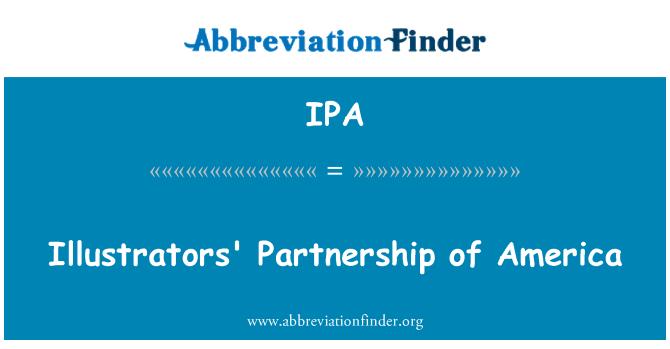 IPA: Illustrators' Partnership of America