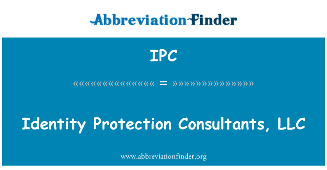 IPC: Identity Protection Consultants, LLC