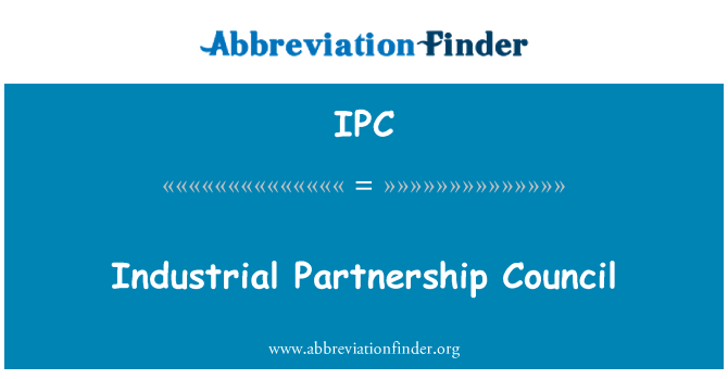 IPC: Industrial Partnership Council