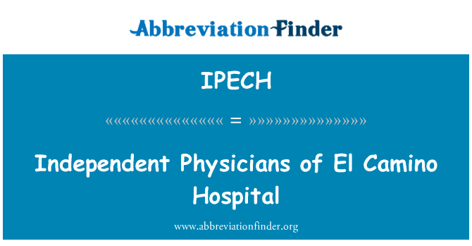 IPECH: Independent Physicians of El Camino Hospital