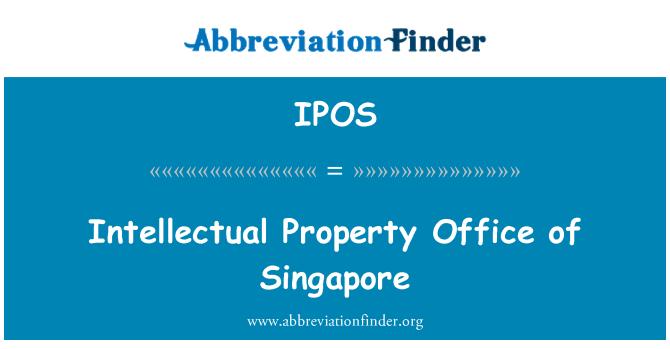 IPOS: Oficina de propiedad intelectual de Singapur