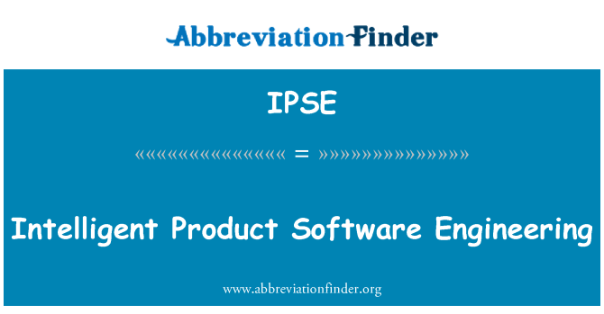 IPSE: Ingeniería de Software de productos inteligentes