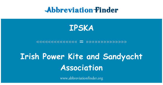IPSKA: Irish Power Kite and Sandyacht Association