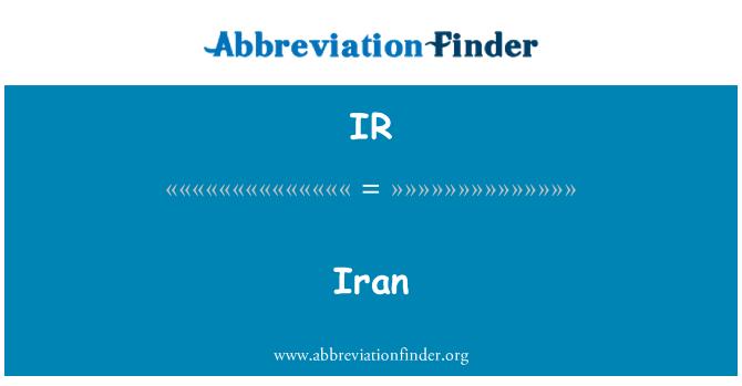 IR: Iran