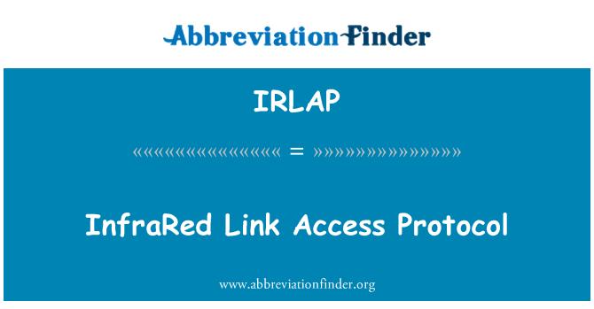 IRLAP: Protocolo de acceso a enlace infrarrojo