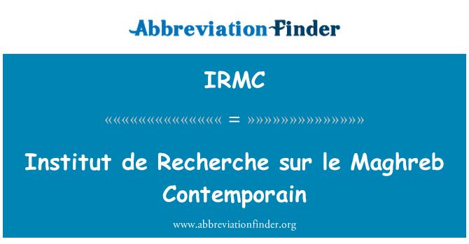 IRMC: 研究所 sur le 马格里布科特迪瓦