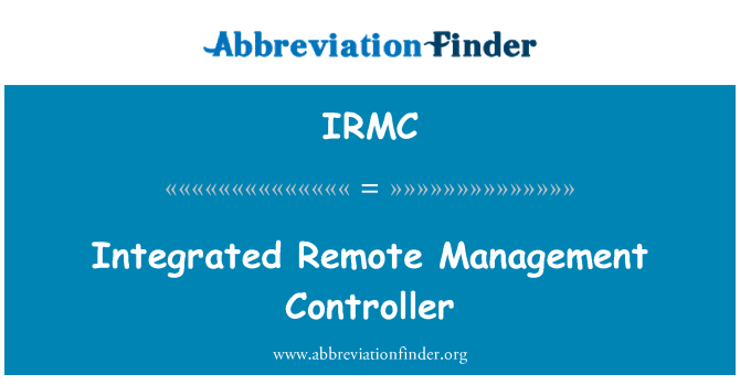 IRMC: Terviklikku Remote Controller