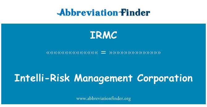 IRMC: Intelli-Risk Management Corporation