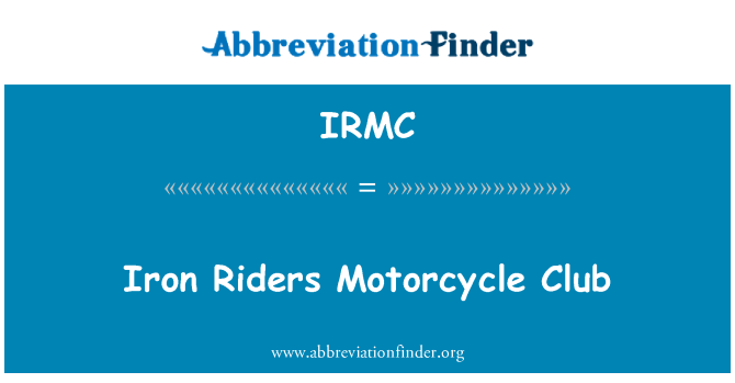 IRMC: Raua ratturid Motorcycle Club
