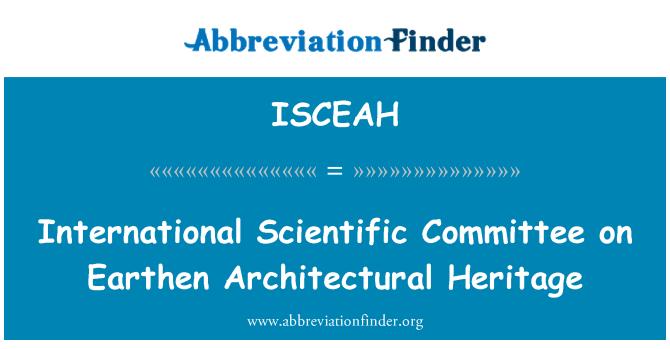 ISCEAH: 土建筑遗产国际科学委员会