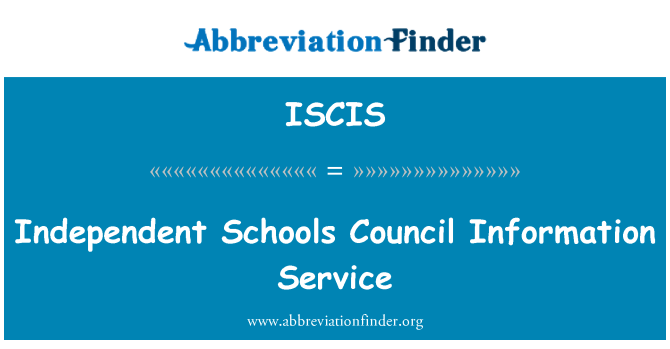 ISCIS: Independent Schools Council Information Service