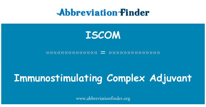 ISCOM: Immunostimulating Complex Adjuvant