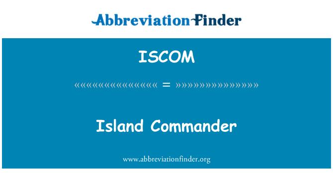 ISCOM: Island Commander