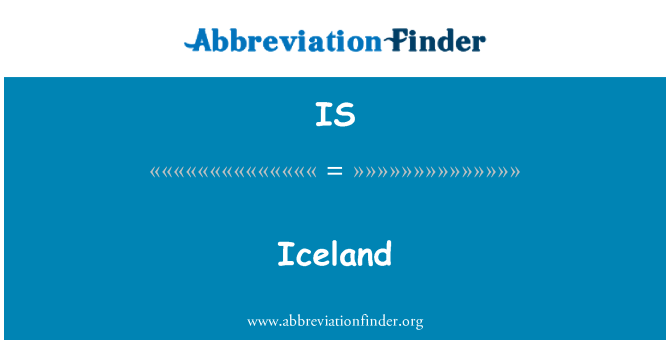IS: Iceland