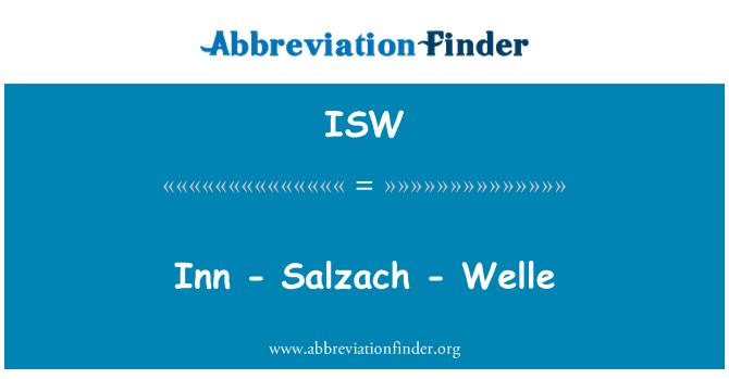ISW: Inn - Salzach - Welle