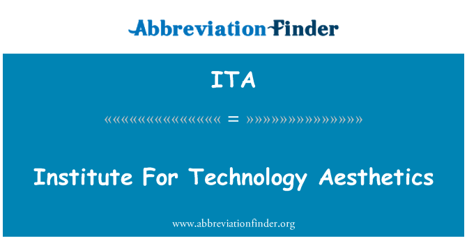 ITA: 技术美学研究所