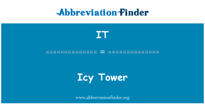 IT: Icy Tower