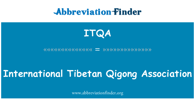 ITQA: International Tibetan Qigong Association