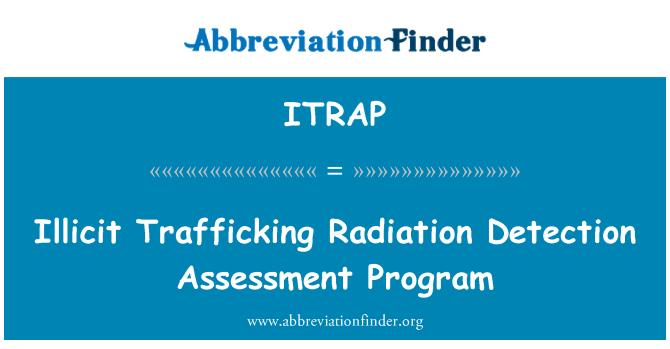 ITRAP: Illicit Trafficking Radiation Detection Assessment Program