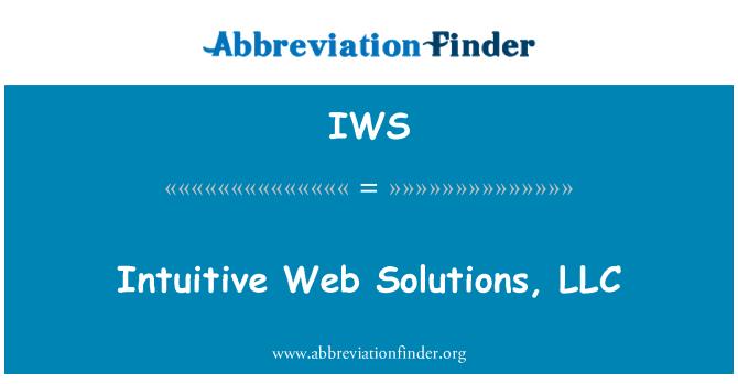 IWS: Intuitive Web Solutions, LLC
