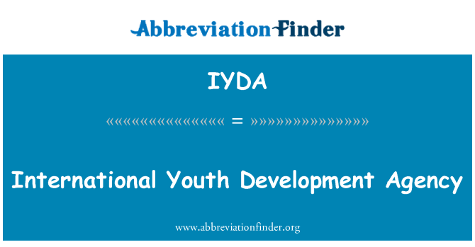 IYDA: International Youth Development Agency
