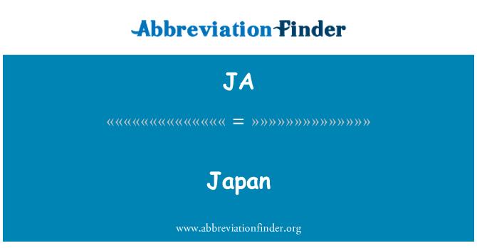 JA: Japan