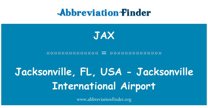 JAX: Jacksonville, FL, USA - Jacksonville International Airport